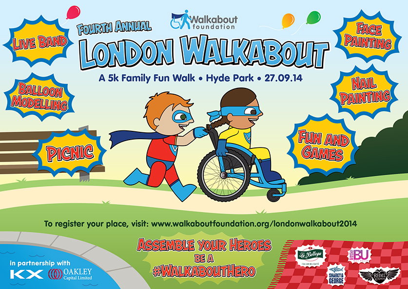 London Walkabout Flyer – Front